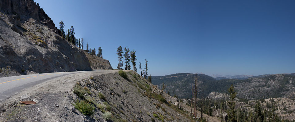 Climbing the last mountains and then downhill to San Francisco. California, USA 9/2014
