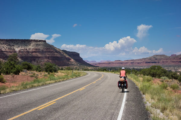 Auf dem Western Express in Utah, USA 8/2014