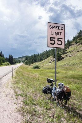 Jetzt gehts weiter auf dem Western Express. Und hoch in die Rocky Mountains. Colorado, USA 8/2014