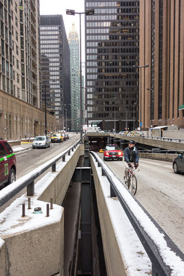 Downtown Chicago. USA 3/2014