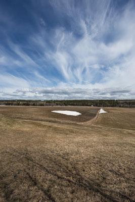 Die Fahrradtour führt nun entlang des Saint-Laurent. Quebec, Kanada 4/2014