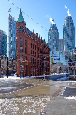 Downtown Toronto. Kanada 3/2014