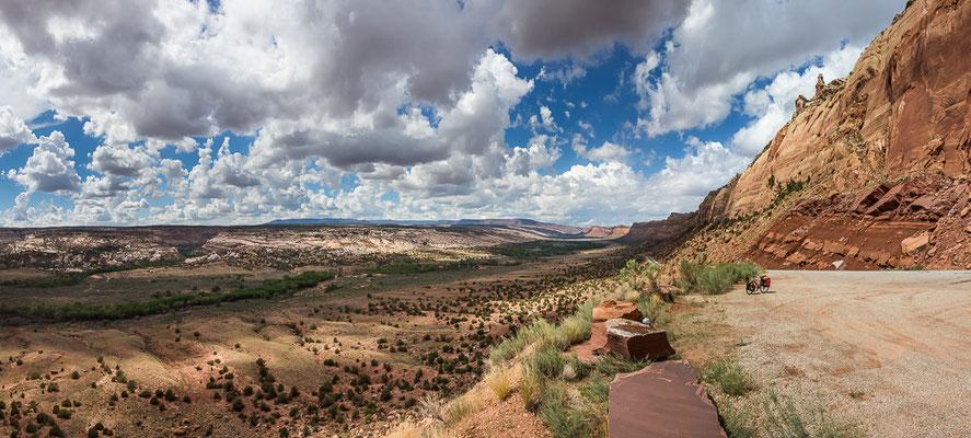 Jetzt beginnt der wirklich atemberaubende Teil des Western Express... Utah, USA 8/2014