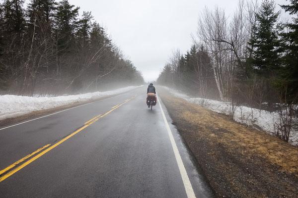 Der letzte Tag in Nova Scotia. Von Truro nach Amherst. Kanada 4/2014