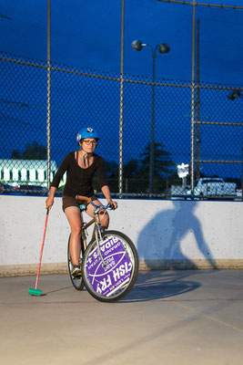 Bike Polo in St Louis. Missouri, USA 6/2014