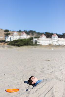 Das Ende unserer Radtour: An der Westküste, am Pazifik. Pacifica/San Francisco. Kalifornien, USA 9/2014