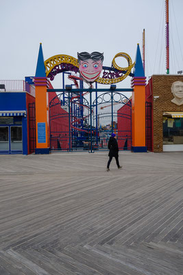 Coney Island. New York, USA 3/2014
