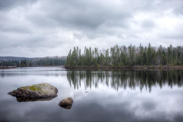 Le Domaine im Wild-Reservat La Verendye. Quebec, Kanada 5/2014