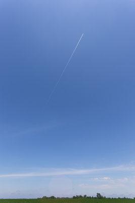 Jetzt sind wir da: mitten im Fly Over Country. Indiana, USA 6/2014