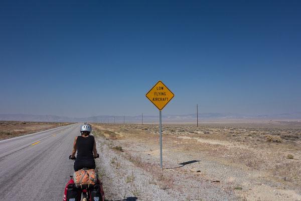 Auf dem Weg nach Fallon. Nevada, USA 8/2014