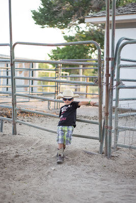 Little cowboy. Fallon. Nevada, USA 8/2014