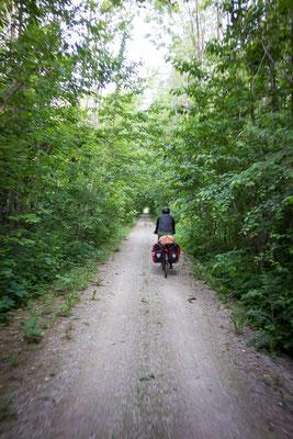 Das ist Fahrradfahren in Kanada IM FRÜHLING!!! Ontario, Kanada 6/2014
