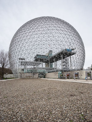 The Biosphère of Richard Buckminster Fuller. Montreal. Quebec, Canada 5/2014
