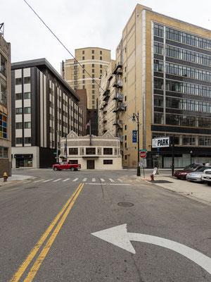 Fahrradstadt Detroit: so viel Platz auf der Strasse! USA 6/2014