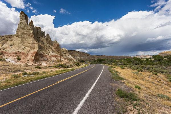 In der Nähe vom Bryce Canyon. Utah, USA 8/2014