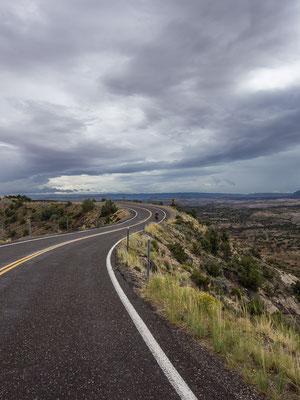 Auf dem Weg nach Escalante. Utah, USA 8/2014