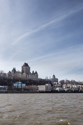 Quebec City. Quebec, Kanada 4/2014