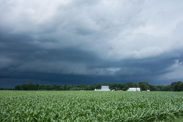 Tornado im Anmarsch? Irgendwo in Indiana. USA 6/2014