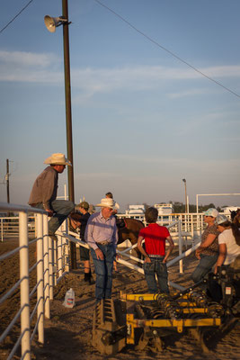 Rodeo in Ordway. Colorado, USA 7/2014