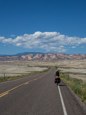 Between Hanksville and Capitol Reef. Utah, USA 8/2014