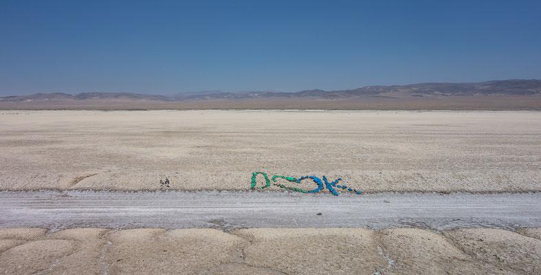 Auf dem Western Express in Richtung Fallon. Nevada, USA 8/2014