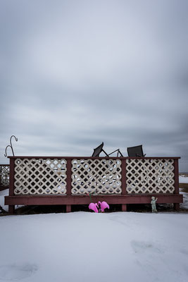 Winter in Clam Bay. Kanada, 03/2014