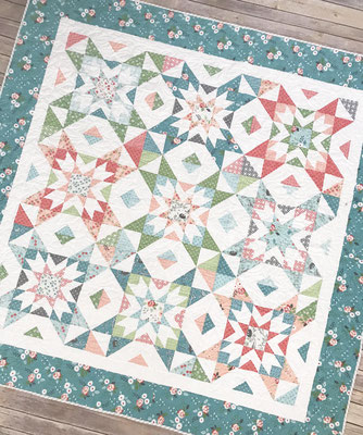 The Nesting Star Quilt Pattern, bluprint.com