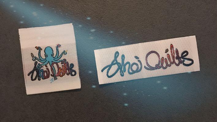 Ahoi Quilts Etiketten
