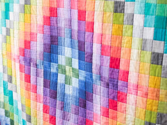 Bargello Quilt Color My World, bluprint.com