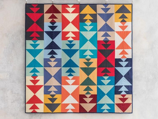 The Pathfinder Quilt, Midnight Quilt Show