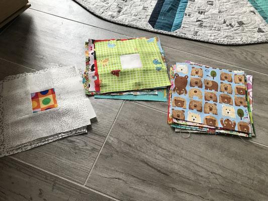 Patchwork Block Babyquilt