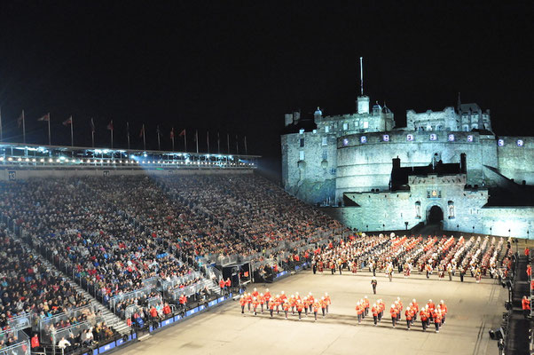 Royal Edinburgh Military Tattoo / Picture: NUSSLI Group