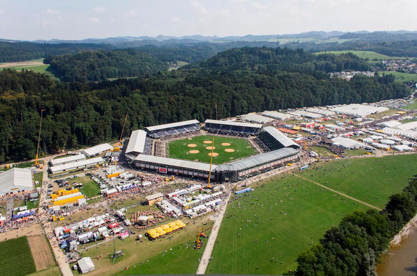 """Swiss """"Schwing und Älpler"""" Festival, Burgdorf 2013 / Picture: NUSSLI Group"""