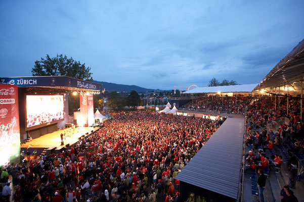 Fan Fest European Championships Zurich / Picture: NUSSLI Group