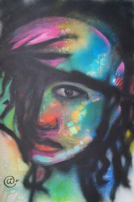 graffiti 60 x 90 cm