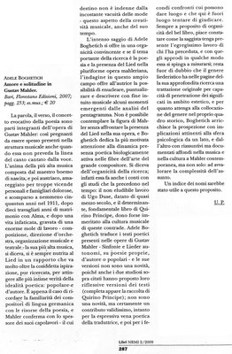 """""""Nuova Rivista Musicale Italiana"""" - aprile/giugno 2009"""