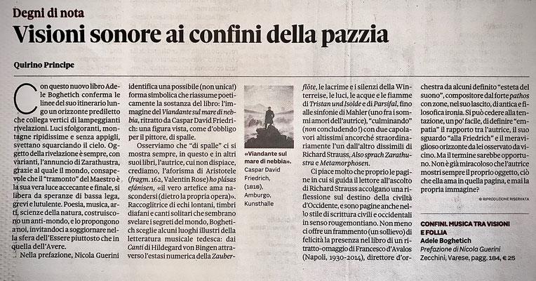 """""""Il Sole 24 ore"""" - 5/7/20"""