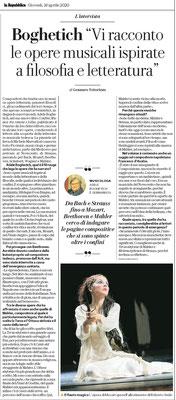 """""""Repubblica"""", Aprile 2020"""
