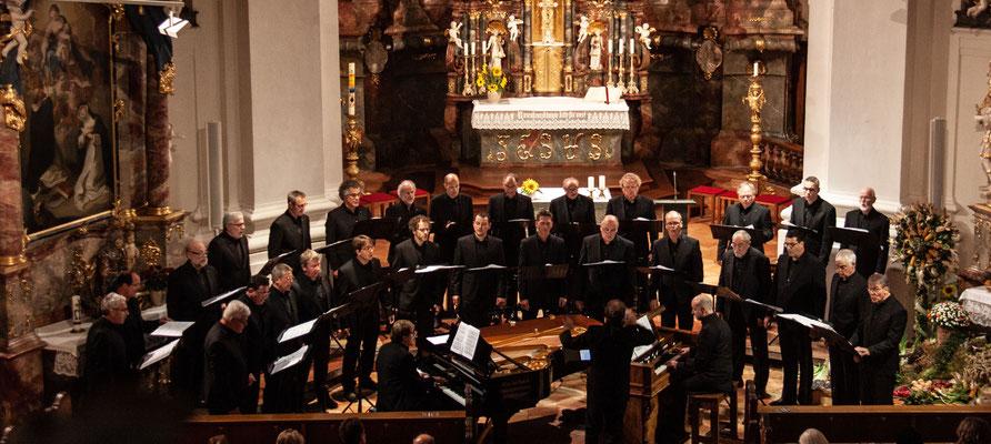 Uraufführung des Ave Maria von Oliver Drechsel in Steinhausen 19. Oktober 2019