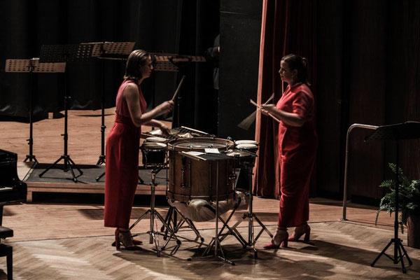 Jahreskonzert Bad Buchau 01. Mai 2019 mit dem PercussionDuo Jessica & Vanessa Porter