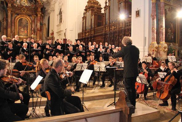 Requiem von Cherubini - Silcherchor & Collegium Instrumentale Dornbirn, Rot an der Rot & Dornbirn Oktober 2015 (Bild: Gerhard Trüg SZ-Biberach)