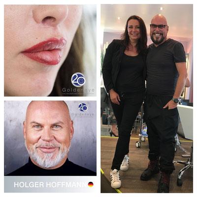 Lippenpigmentierung von Holger Hoffmann Goldeneye  + Angela Schmoll