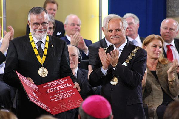 Karlspreisverleihung - Aachen 2009