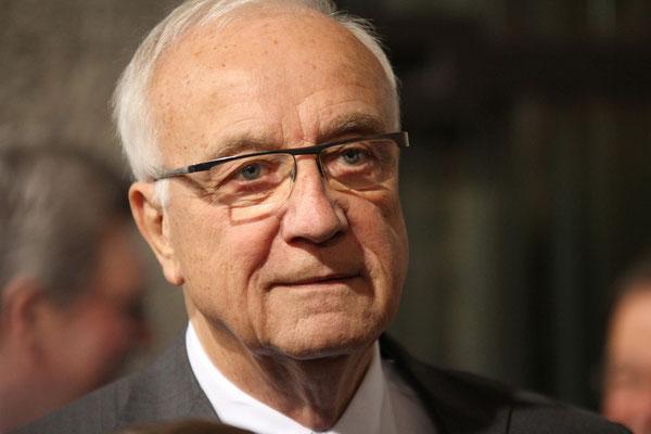 Fritz Pleitgen (ehemaliger Intendant des WDR) - Aachen 2014