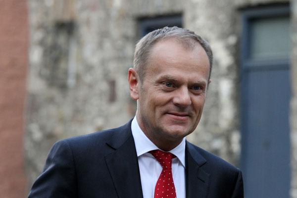 Donald Tusk (Präsident Europäischer Rat) - Karlspreisverleihung - Aachen 2015