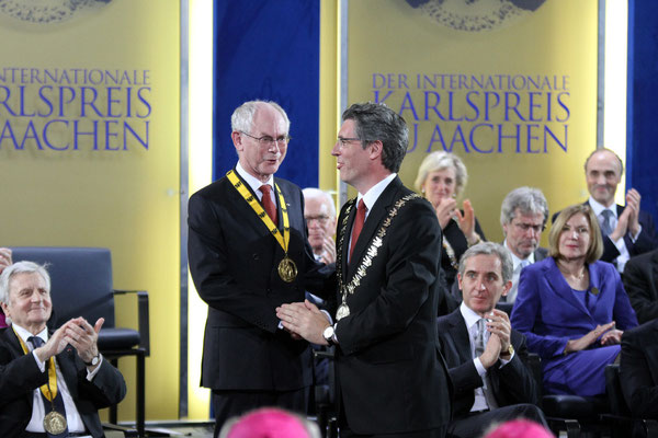 Karlspreisverleihung - Aachen 2014