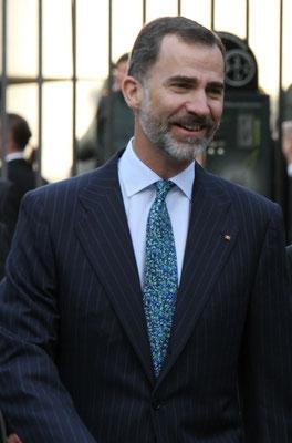 Felipe VI.(König v. Spanien) - Karlspreisverleihung - Aachen 2015