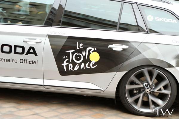 Tour de France 2017...in Aachen unterwegs/Richtung Marktplatz