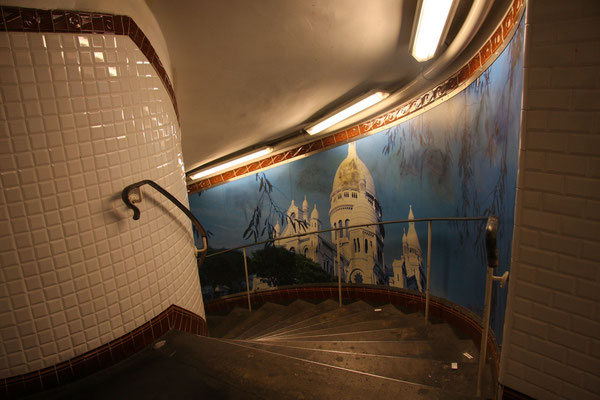 Metrostation Abbesses - Paris 2009