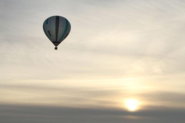 Ballonfahrt - Juli 2014
